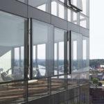 facciata edificio in vetro