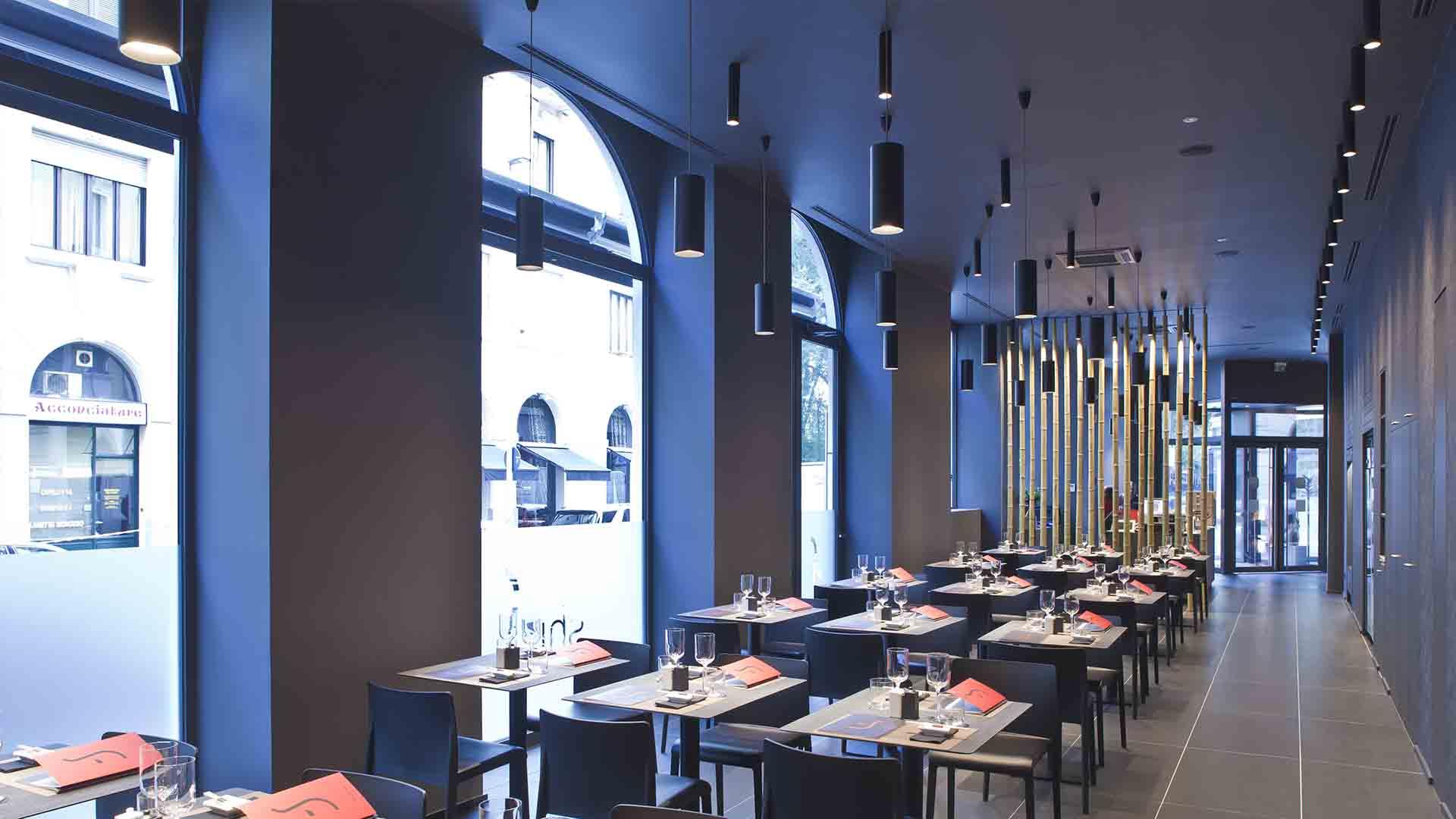 serramenti interno ristorante