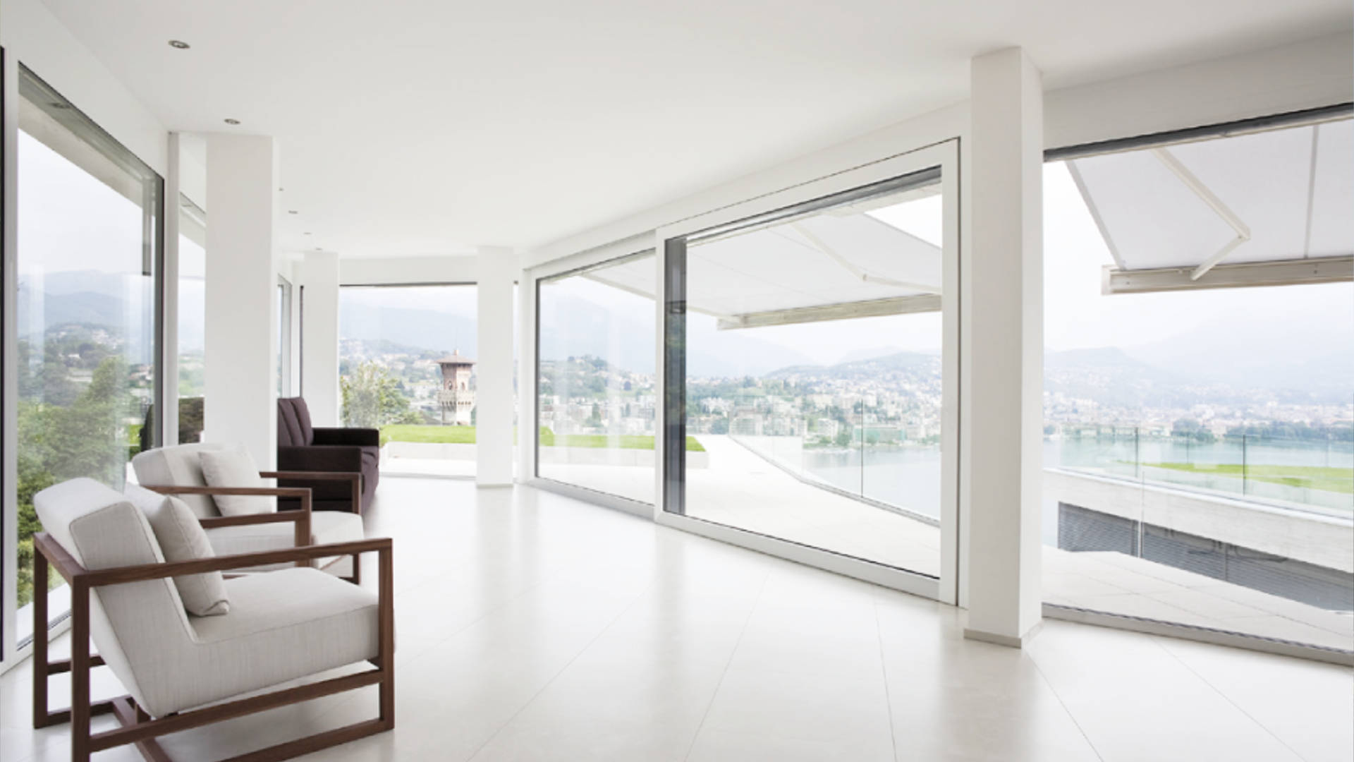 Sistema eku per finestre scorrevoli EKU 170 AS