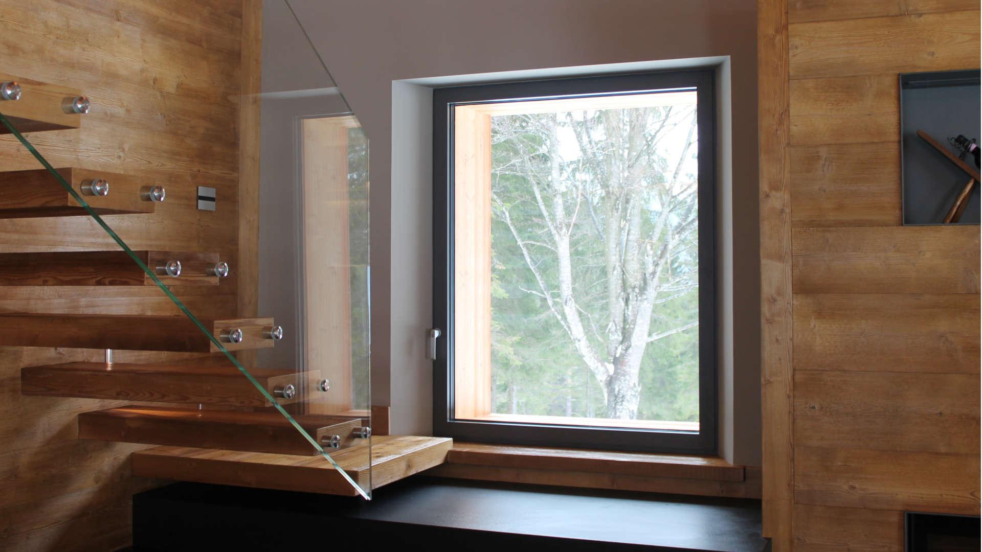 finestra in alluminio schüco