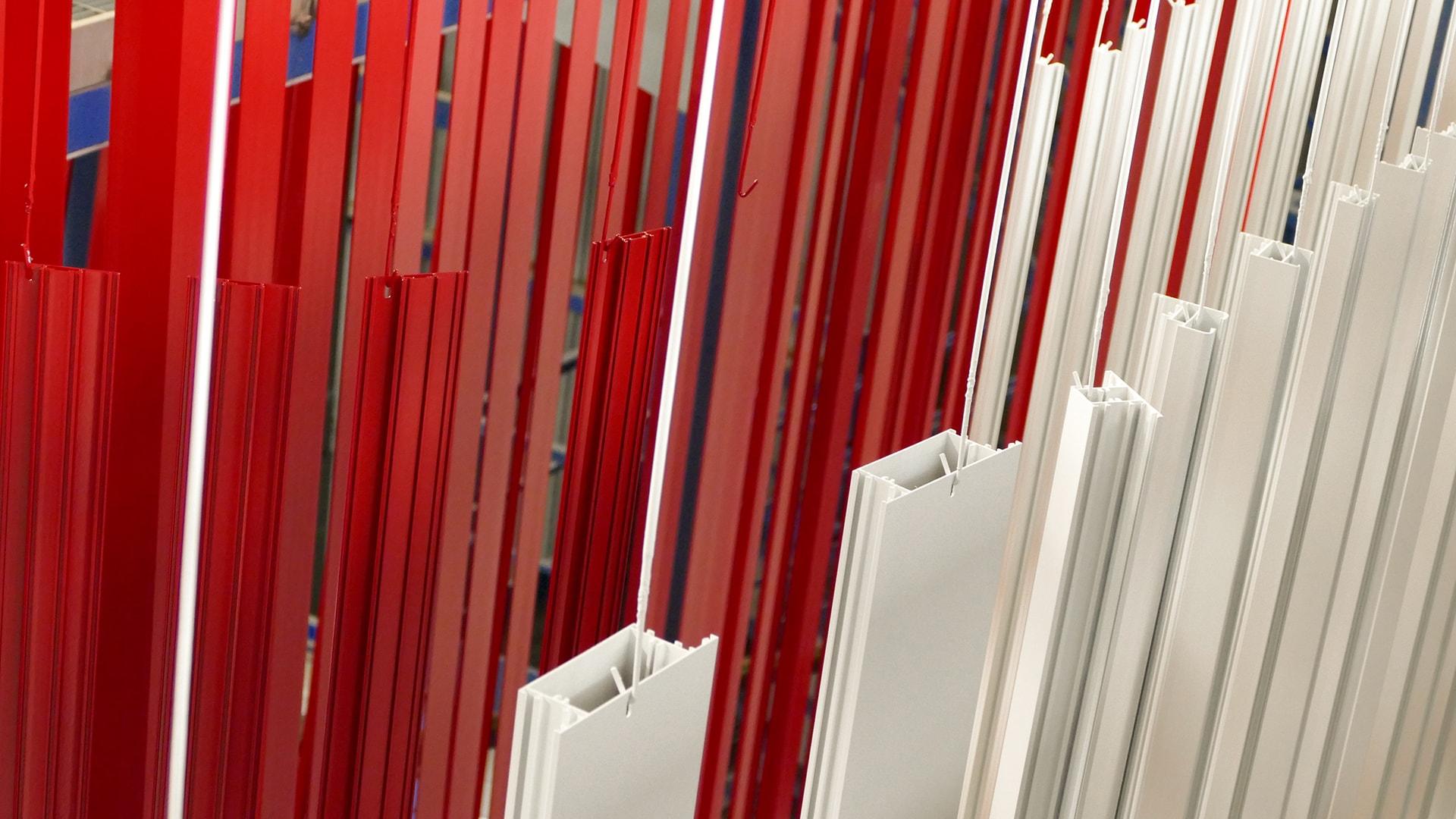 finiture serramenti colorate