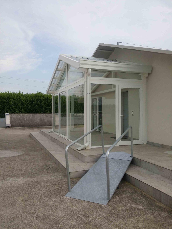 veranda in alluminio a udine